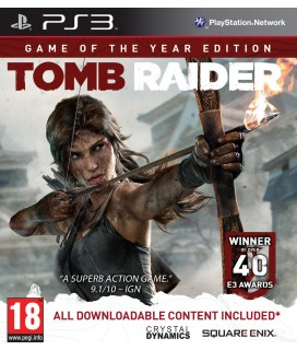 Tomb Raider (Game of the Year Edition) PS3 GAMES Used-Μεταχειρισμένο