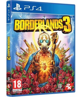 Borderlands 3 (Περιλαμβάνει το Gold Weapon Skins Pack) PS4 GAMES