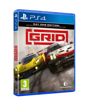 Grid (Day One Edition) PS4 GAMES Used-Μεταχειρισμένο