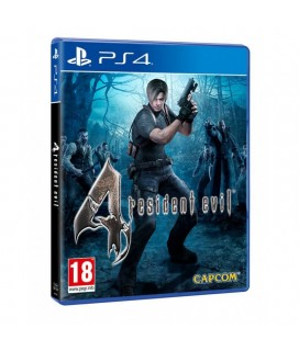 RESIDENT EVIL 4 PS4 GAMES Used-Μεταχειρισμένο