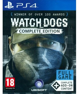 Watch Dogs Complete Edition PS4 GAMES Used-Μεταχειρισμένο