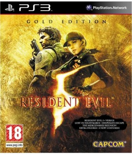 Resident Evil 5 Gold Edition PS3 Used-Μεταχειρισμένο