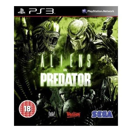 Aliens Vs Predator PS3 GAMES Used-Μεταχειρισμένο