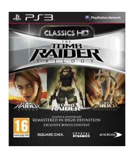 The Tomb Raider Trilogy - PS3 Game