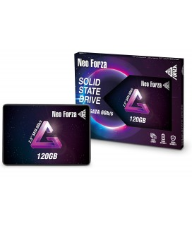 NEO FORZA SSD 2.5'' 120GB NFS01, SATA3, READ 560MB/s, WRITE 490MB/s, 3YW (NFS011SA312-6007200)