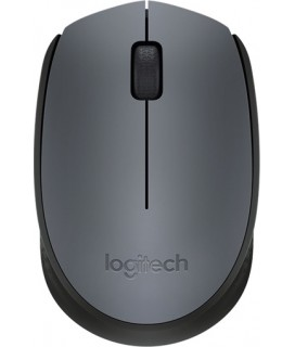 Logitech mouse Wireless optical M170 USB Grey