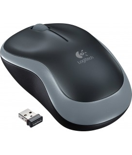Logitech mouse Wireless optical M185 Black/Grey