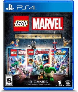 LEGO Marvel Collection (3-pack) PS4 GAMES