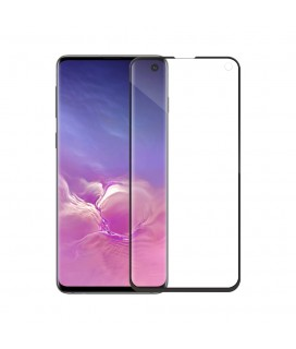 Tempered glass Mocoson Nano Flexible, Full 5D, για το Samsung Galaxy S10, 0.3mm, Μαυρο