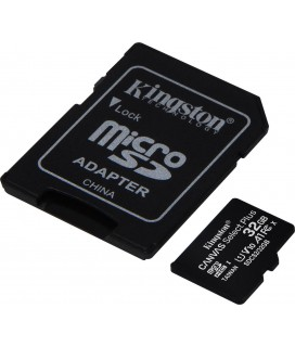Κάρτα μνήμης Kingston Canvas Select Plus micro SDCS2 32GB Class 10 U1 V10 A1 with Adapter