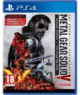 Metal Gear Solid V Ground Zeroes PS4 GAMES