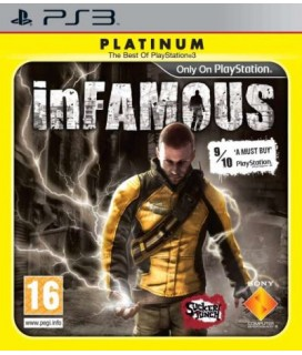 Infamous PLATINUM PS3 GAMES Used-Μεταχειρισμένο