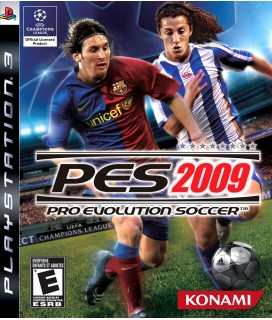 Pro Evolution Soccer 2009 PS3 GAMES Used-Μεταχειρισμένο