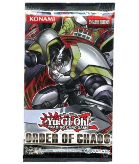 YU-GI-OH ORDER OF CHAOS Booster