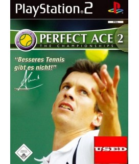Perfect ACE 2 The Championships PS2 GAMES Used-Μεταχειρισμένο