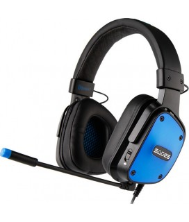 Sades Gaming Headset DPower 3.5mm 40mm ακουστικά Blue (SA-722-BL)