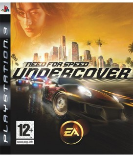 Need For Speed Undercover PS3 GAMES Used-Μεταχειρισμένο