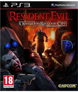 Resident Evil Operation Raccoon City PS3 GAMES Used-Μεταχειρισμένο