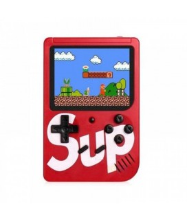 Retro Portable Mini Game Console 8-Bit 3.0 Inch Kids Game Player 400 Games Red