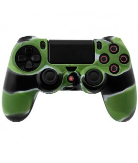 Silicone Case Skin Multi Color Green / Black / White Κάλυμμα Σιλικόνης Χειριστηρίου - PS4 Controller