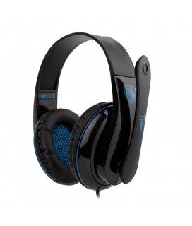 SADES Gaming headset Tpower με 40mm ακουστικά, Blue