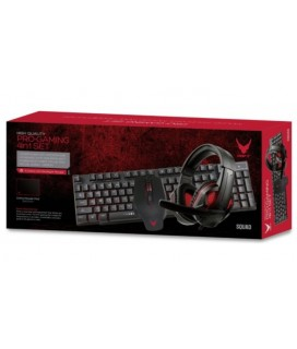 Varr VG4IN1SET01 PRO Gaming 4in1 Set / Keyboard / Mouse / Headset / Mouse Pad / ENG