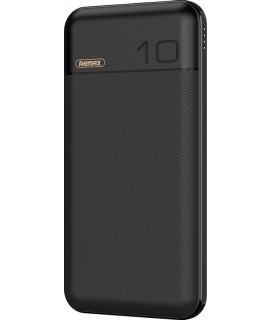 Remax Boree RPP-151,Power bank 10000mAh, Quick Charge 3.0 χρώμα Μαύρο