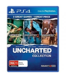 Uncharted The Nathan Drake Collection(Ελληνικο) PS4