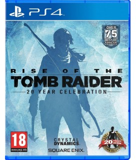 Rise of the Tomb Raider 20 Year Celebration PS4 GAMES