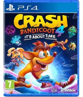 Crash Bandicoot 4: It's About Time PS4 GAMES