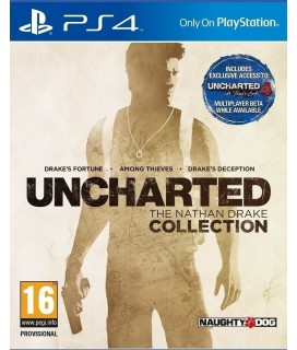 Uncharted Η συλλογή του Nathan Drake PS4 GAMES Used-Μεταχειρισμένο
