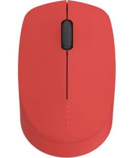 RAPOO M100, WIRELESS OPTICAL MOUSE, MULTI-MODE, SILENT, (RED) 18148