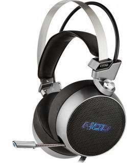NOD G-HDS-003 GAMING HEADSET ALUMINIUM WITH BLUE LED