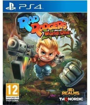 Rad Rogers World One PS4 GAMES Used-Μεταχειρισμένο