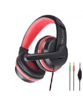 Headsets Ovleng X8 for computer with microphone, Black