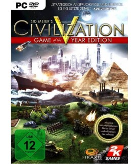 Sid Meier's Civilization V: Game of the Year Edition PC GAMES
