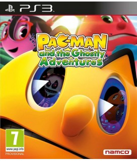 Pac-Man and The Ghostly Adventures PS3 GAMES