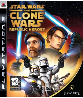 Star Wars The Clone Wars Republic Heroes PS3 GAMES