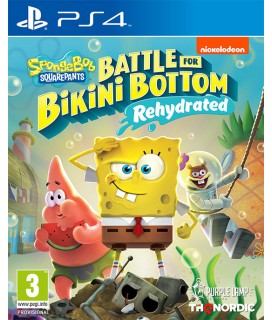 SpongeBob SquarePants: Battle for Bikini Bottom - Rehydrated PS4 GAMES