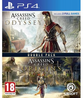 Assassin's Creed Origins / Assassin's Creed Odyssey Double Pack PS4 GAMES