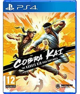 Cobra Kai The Karate Kid Saga Continues PS4 GAMES