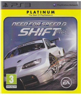 Need For Speed Shift (Platinum) PS3 GAMES Used-Μεταχειρισμένο(BLES-00681/P)