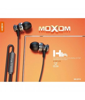 MOXOM EARPHONE ΜΧ- EP19 FOR ALL SMARTPHONE WITH AUX AUDIO