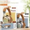 Ασύρματα Ακουστικά Headset Bluetooth Moxom Neon Beat MX-WL14 FM MODE Χρώμα Brown