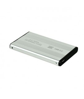 USB 2.0 Portable 2.5 Inch HDD External Case-QY-S 2.5 - Silver ANDOWL