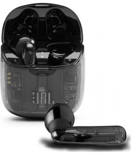 JBL Tune 225TWS, True Wireless Ear-Buds Headphones, (Ghost Black)