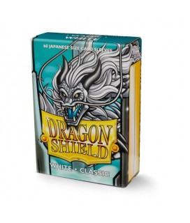 DRAGON SHIELD SMALL SIZE WHITE SLEEVES 60-CT