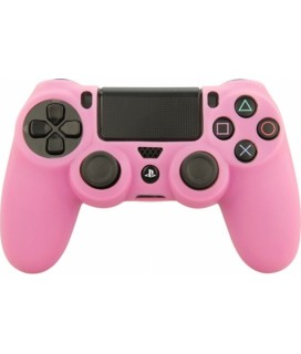 SENSO SILICONE CASE FOR PS4 PINK-Ρόζ