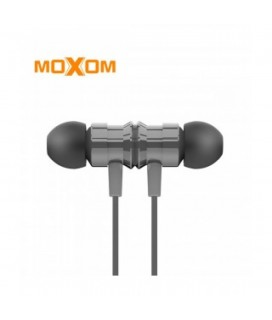 MOXOM EARPHONE ΜΧ- EP19 FOR ALL SMARTPHONE WITH AUX AUDIO ΧΡΏΜΑ ΜΑΥΡΟ
