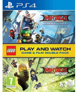 The LEGO Ninjago Movie Video Game (Film Double Pack) PS4 GAMES
